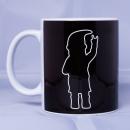 ROCKZWERG® Kaffeetasse glänzend