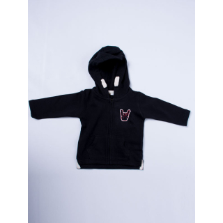 ROCKZWERG® Hoody-Zipper 12-18 Monate